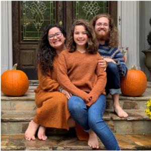 Stephanie Potra and family